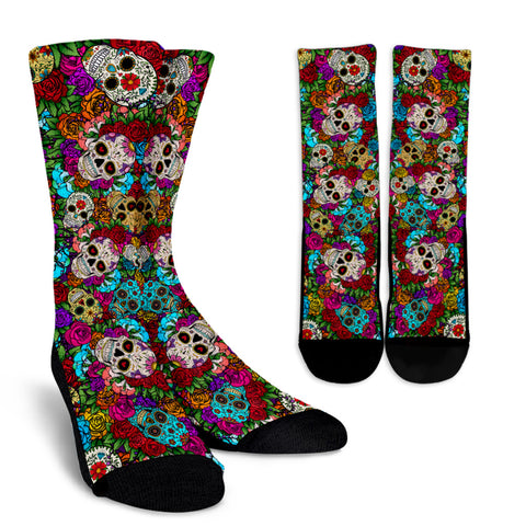 Sugar Skull Socks. - MRP