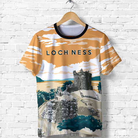 Image of Loch Ness - Urquhart Castle All Over Print T-shirt- MRH