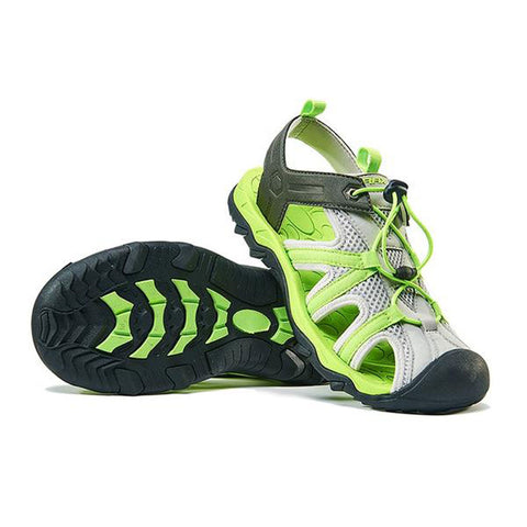 Mountain Roar Trail Hiking Sandals Mens Green