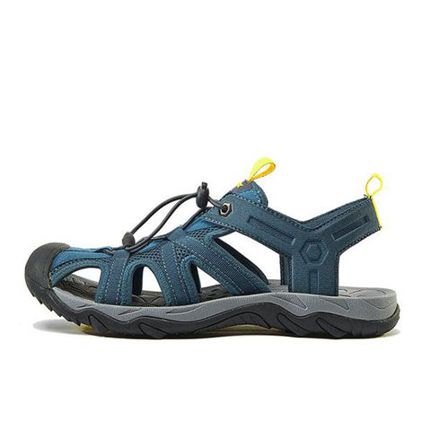 Image of Mountain Roar Trail Hiking Sandals Mens Blue