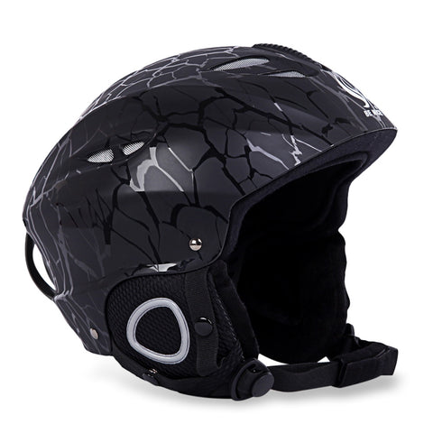 Skiing Helmet with Inner Adjustable Buckle Liner Cushion Layer | Mountain Roar Helmet - MRF