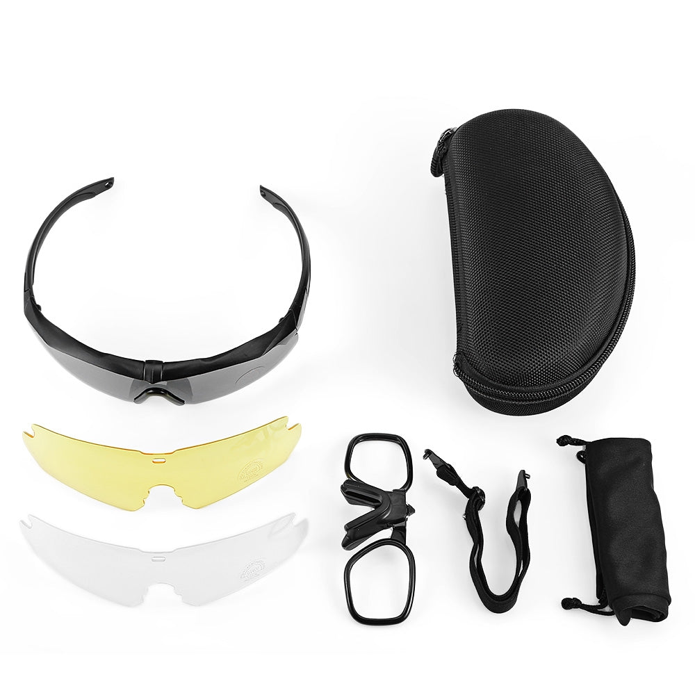 Outdoor Mountain Bike Windproof Glasses Cycling Goggles Mountain