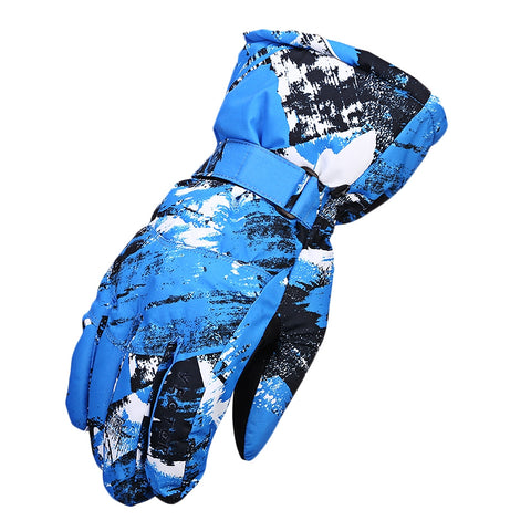 Windproof Water-resistant Warm Skiing Snowboarding Gloves | Mountain Roar Waterproof Snow Gloves MRJ
