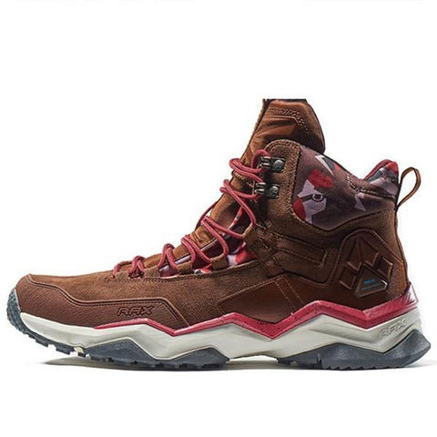 Mountain Roar Trail Hiking Shoes Mens - MRJ Brown