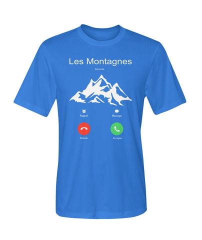 Image of The Mountain Is Calling 02 | Mountain Roar Sport T Shirt Designs - MRJ