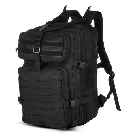 40L Tactical Assault Backpack for Outdoor - Black