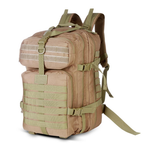 Image of 40L Tactical Assault Backpack for Outdoor - Khaki