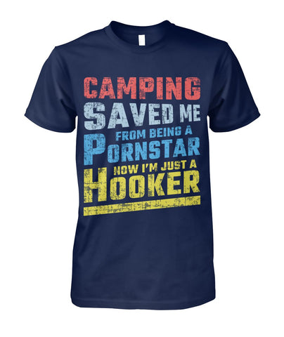 Now I'm Just A Hooker 01 | Mountain Roar Camping T-Shirt - MRA
