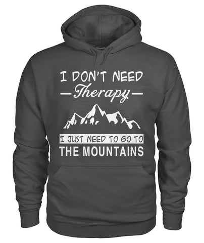 I Just Need To Go To The Mountains 01 | Mountain Roar Gildan Hoodie Custom Design - MRF