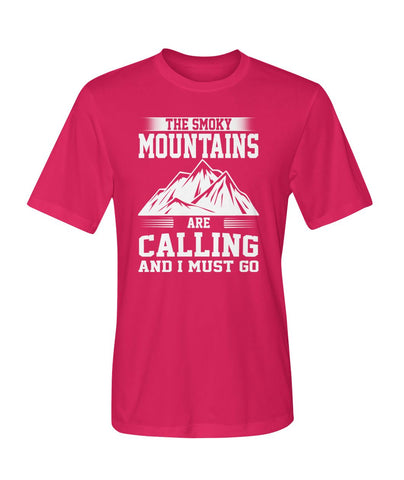 The Smoky Mountains Are Calling And I Must Go 01 | Mountain Roar Sport T Shirt Designs - MRJ