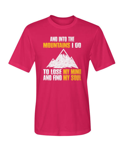 And Into The Mountains 01 | Mountain Roar Sport T Shirt Designs - MRJ