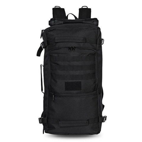 60L - Military Backpack Waterproof - Black