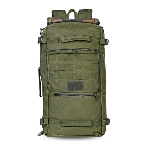 60L - Military Backpack Waterproof - Army