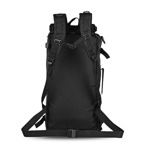 60L - Military Backpack Waterproof - Back