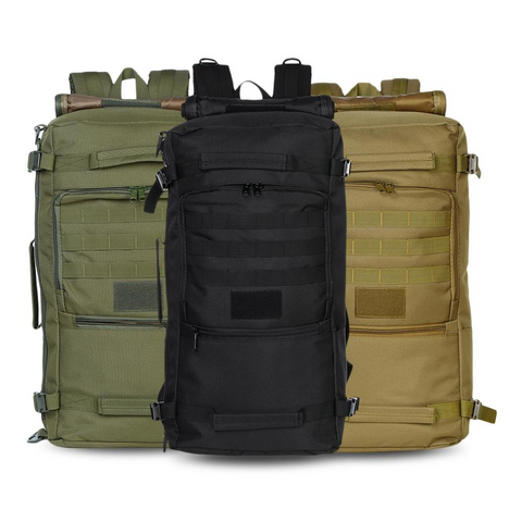 60L - Military Backpack Waterproof - 3 Pack