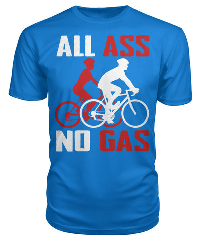 All Ass No Gas 01 | Mountain Roar Cycling T Shirt Design Print - MRC