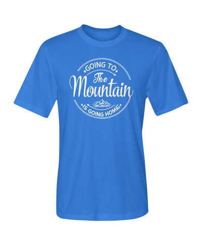 Going To The Mountain Is Going Home 01 | Mountain Roar Sport T Shirt Designs - MRJ