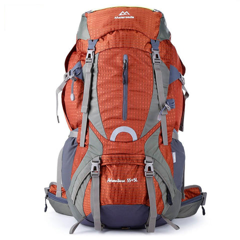Image of 60L Water Resistant Hiking Camping Backpack | Mountain Roar Backpack - MRD