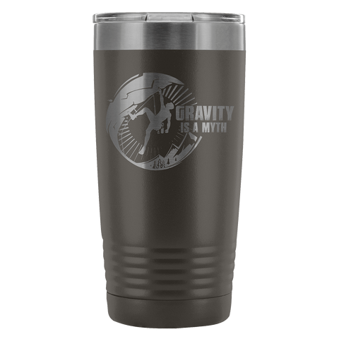 Mountain Roar Vacuum Insulated Tumblers 20 Oz | Gravity Is A Myth 01 - MRJ