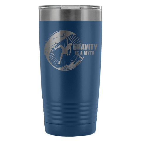 Mountain Roar Vacuum Insulated Tumblers 20 Oz | Gravity Is A Myth 01 Blue - MRJ