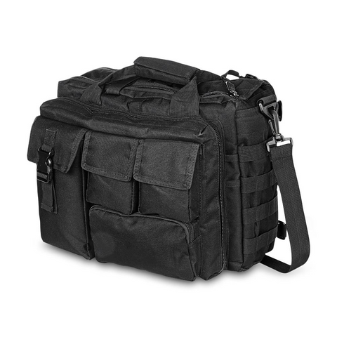 Outdoor Tactical Military Messenger Bag Waterproof - Black