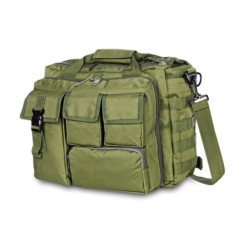 Image of Outdoor Tactical Military Messenger Bag Waterproof - Green