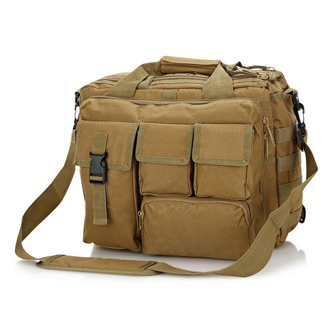 Outdoor Tactical Military Messenger Bag Waterproof - Camel
