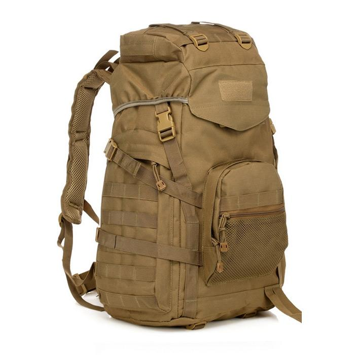 88bfb08eaf Waterproof 60L 3 Day Tactical Backpack with Rain Cover Camo. Click to zoom