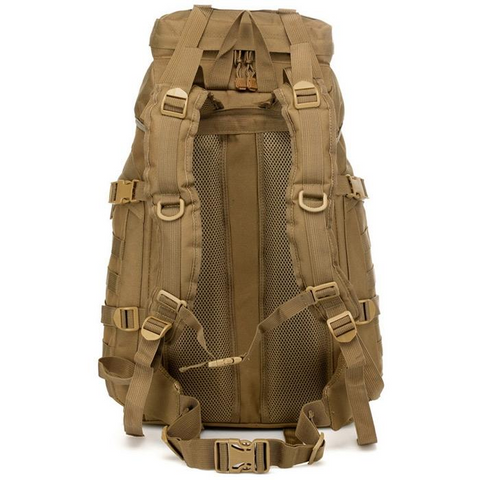 Waterproof 60L 3 Day Tactical Backpack with Rain Cover - View 02