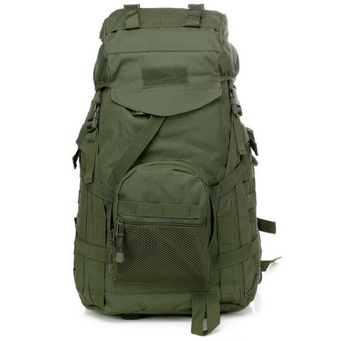 Image of Waterproof 60L 3 Day Tactical Backpack with Rain Cover View 03
