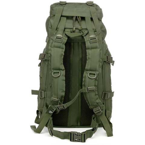 Image of Waterproof 60L 3 Day Tactical Backpack with Rain Cover - View 04