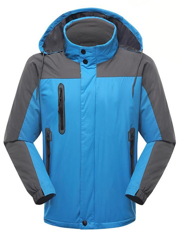 Stylish Breathable Waterproof Windbreak Hooded Sports Jacket for Men | Mountain Roar Jacket - MRC