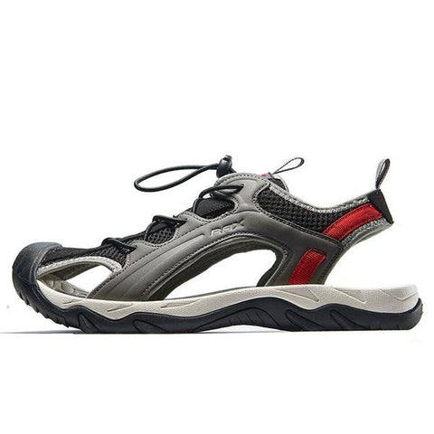 Mountain Roar Trail Hiking Sandals Mens - MRJ Black