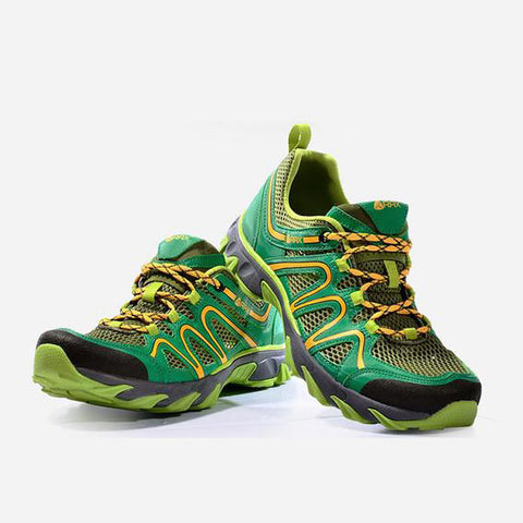 Mountain Roar Trail Hiking Shoes Mens - MRJ Grass-Green