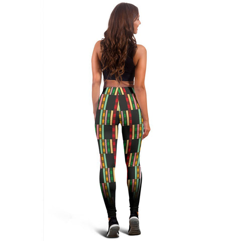 African Kente Pattern Legging 04 - MRT