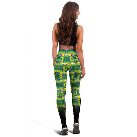 African Kente Pattern Legging 03 - MRT