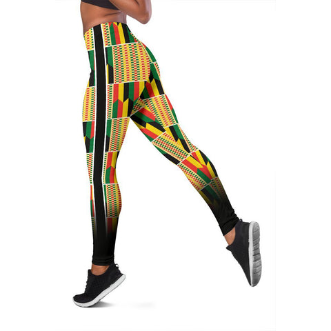African Kente Pattern Legging 02 - MRT