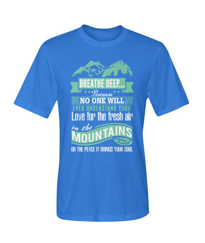 Image of No One Will Ever Understand Your Love | Mountain Roar Sport T Shirt Designs - MRJ