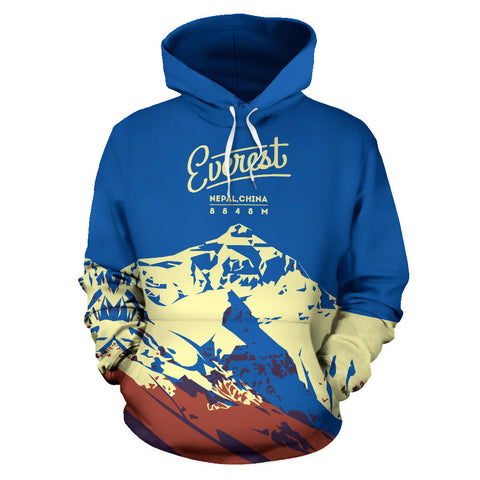 Everest Mountain All Over Print Hoodie - MRP