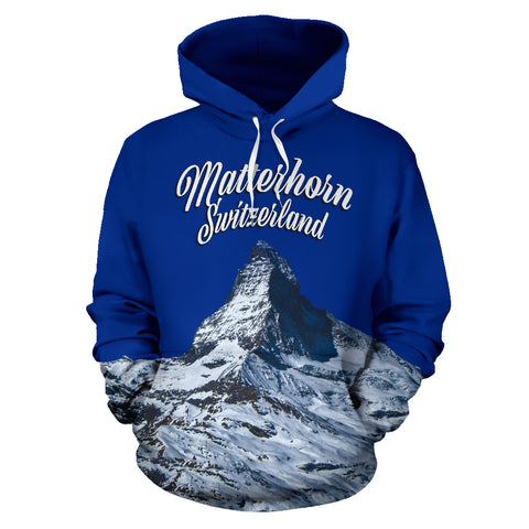 Zermatt Matterhorn Switzerland Mountain All Over Print Hoodie - MRP