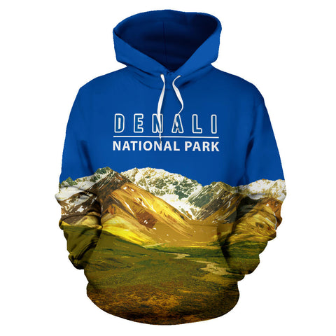 Denali National Park All Over Print Hoodie - MRE
