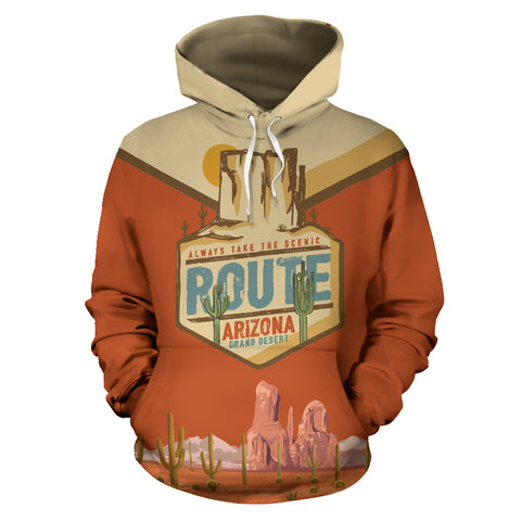 Image of Arizona Grand Desert All Over Print Hoodie - MRP