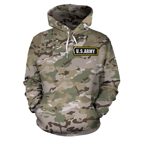 MultiCam U.S. Army All Over Print Hoodie 02 - MRA