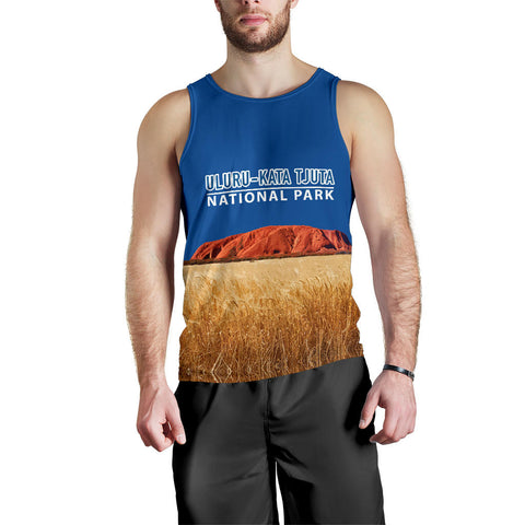 Image of Uluru-Kata Tjuta National Park  Tank Top - MRET
