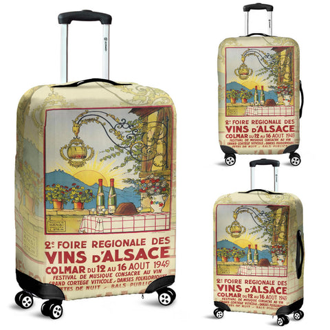 Vin D'Alsace Luggage Cover - MRP