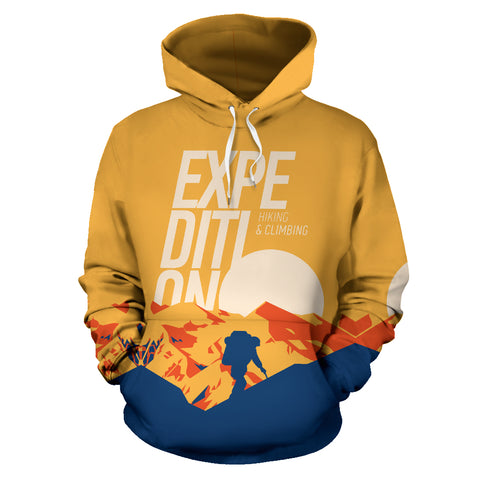 The Expedition - Hiking & Climbing All Over Print Hoodie - MRP