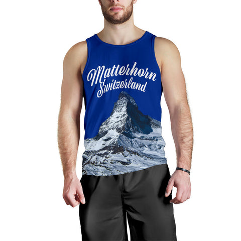 Zermatt Matterhorn Switzerland Mountain Tank Top - MRPT