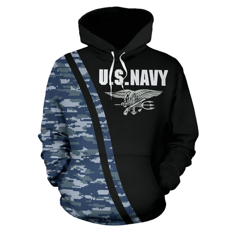 Image of NWU Type I U.S. Navy All Over Print Hoodie 04 - MRA - Front ... df1c7279b61