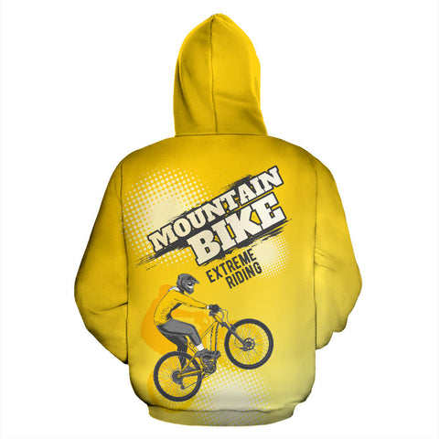 Mountain Biking All Over Print Hoodie - MRP
