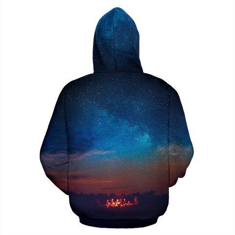 Camping Where We Get Toasted Together Hoodie - MRP